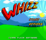 Whizz title screenshot