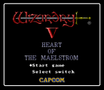 Wizardry V - Heart of the Maelstrom title screenshot