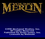 Young Merlin title screenshot