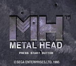 Metal Head title screenshot