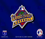 World Series Baseball Starring Deion Sanders title screenshot