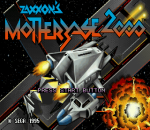 Zaxxon's Motherbase 2000 title screenshot