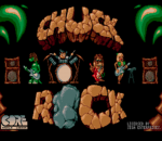Chuck Rock title screenshot