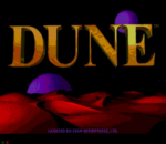 Dune title screenshot