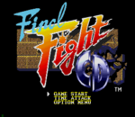 Final Fight CD title screenshot
