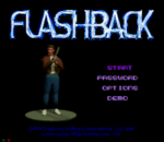 Flashback - The Quest for Identity title screenshot