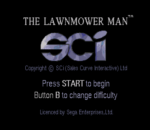 Lawnmower Man, The title screenshot