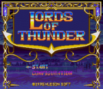 Lords of Thunder title screenshot