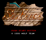 Sol-Feace title screenshot