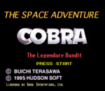 Space Adventure, The - Cobra the Legendary Bandit title screenshot