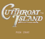 Cutthroat Island title screenshot