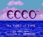 Ecco II - The Tides of Time title screenshot