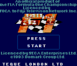 F1 title screenshot