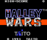 Halley Wars title screenshot
