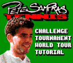 Pete Sampras Tennis title screenshot