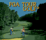 PGA Tour Golf title screenshot