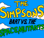 Simpsons, The - Bart vs. The Space Mutants title screenshot