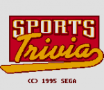 Sports Trivia title screenshot