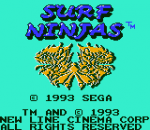 Surf Ninjas title screenshot