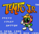 Tempo Jr. title screenshot