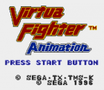 Virtua Fighter Animation title screenshot
