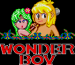 Wonder Boy title screenshot
