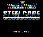 WWF Wrestlemania Steel Cage Challenge title screenshot