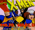 X-Men - Mojo World title screenshot