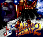 Aero the Acro-Bat 2 title screenshot