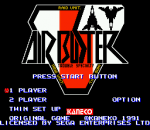 Air Buster title screenshot