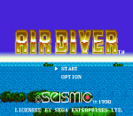 Air Diver title screenshot