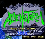 Alien Storm title screenshot