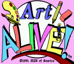 Art Alive title screenshot