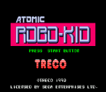 Atomic Robo-Kid title screenshot