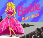 Barbie Super Model title screenshot