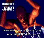 Barkley Shut Up and Jam! title screenshot