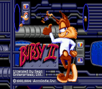Bubsy II title screenshot