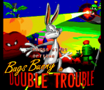 Bugs Bunny in Double Trouble title screenshot