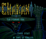 Chakan title screenshot