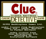 Clue title screenshot