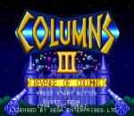 Columns III - Revenge of Columns title screenshot