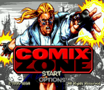 Comix Zone title screenshot