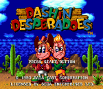 Dashin' Desperadoes title screenshot