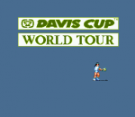 Davis Cup Tennis World Tour title screenshot
