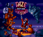 Daze Before Christmas title screenshot