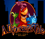 Dinosaur's Tale, A title screenshot