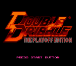 Double Dribble - The Playoff Edition title screenshot