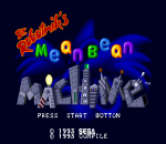Dr. Robotnik's Mean Bean Machine title screenshot