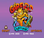 Garfield - Caught in the Act title screenshot