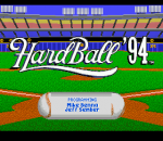HardBall '94 title screenshot